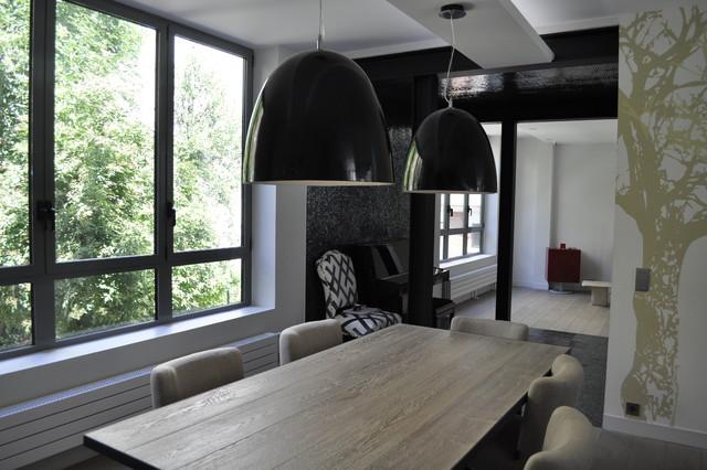 maison refaite et restructur e salle manger. Black Bedroom Furniture Sets. Home Design Ideas