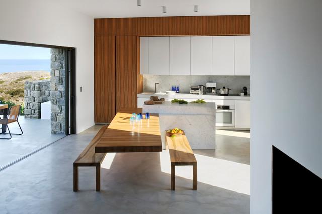 milos mediterran esszimmer other metro von bernard. Black Bedroom Furniture Sets. Home Design Ideas