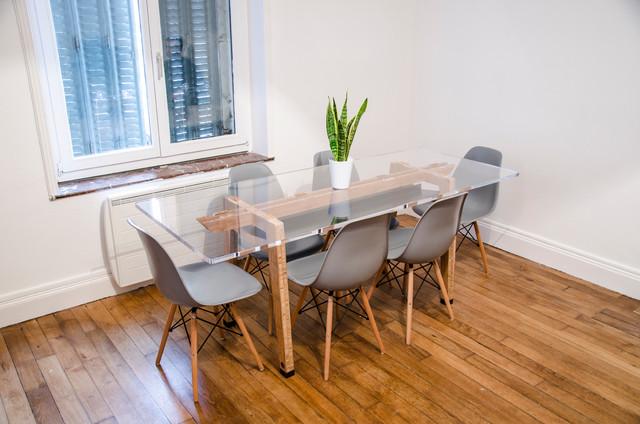 mobilier table de r union moderne salle manger reims par baru design. Black Bedroom Furniture Sets. Home Design Ideas