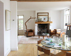Normandy House farmhouse-dining-room