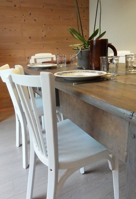Old farm remodal contemporary-dining-room