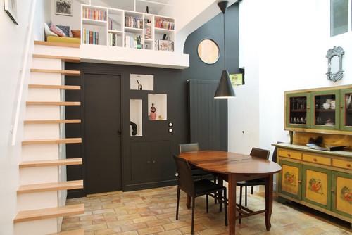 Pavillon style loft
