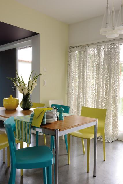 peinture cuisne contemporain salle manger lyon par zolpan sas. Black Bedroom Furniture Sets. Home Design Ideas