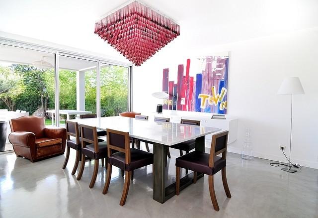 photographie d 39 int rieur moderne salle manger montpellier par hugo da costa photographe. Black Bedroom Furniture Sets. Home Design Ideas