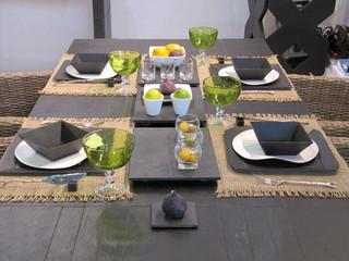 plateau de table en ardoise naturelle contemporain. Black Bedroom Furniture Sets. Home Design Ideas