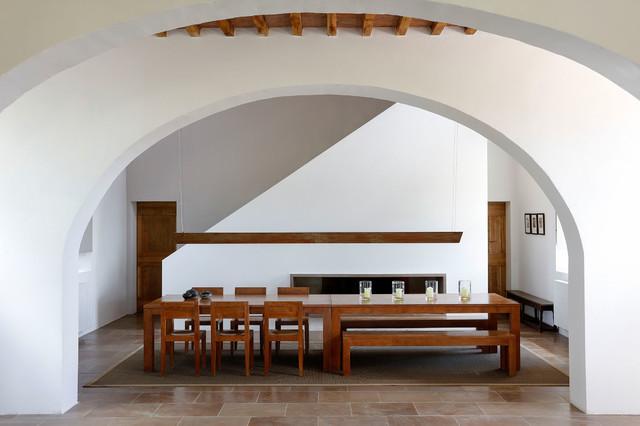 Podere Ferranesi Asciano SI, Italie mediterraneo-sala-da-pranzo