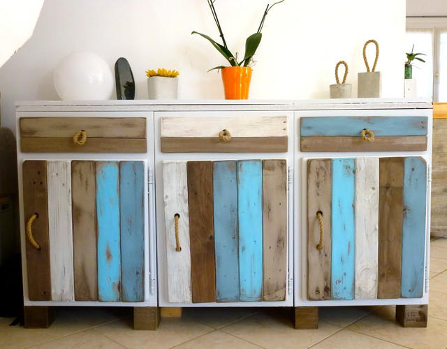 Relooking Buffet Bord de mer - Beach Style - Dining Room ...