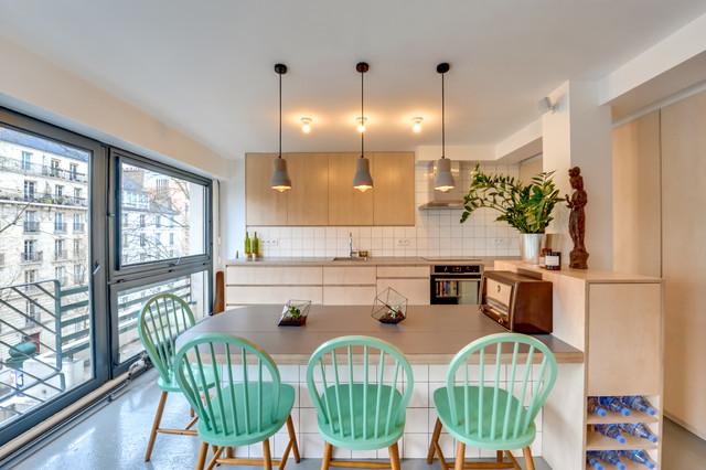 R novation d 39 un appartement de 70m2 for Apartment design 70m2