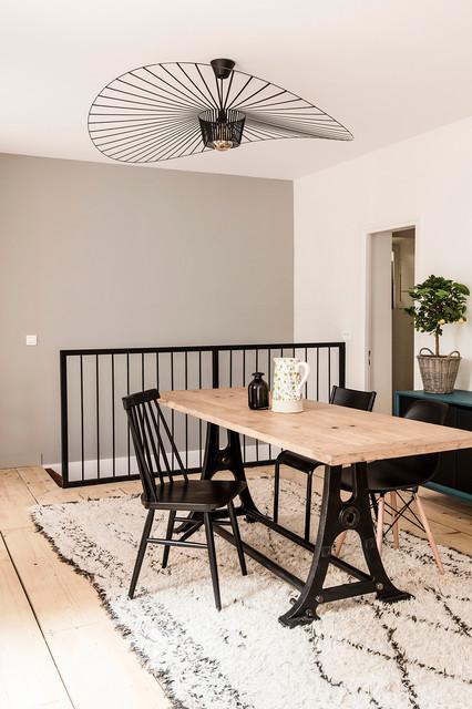 R novation d 39 une maison de ville boulogne billancourt contemporain salle manger paris - Mobilier jardin amazon boulogne billancourt ...