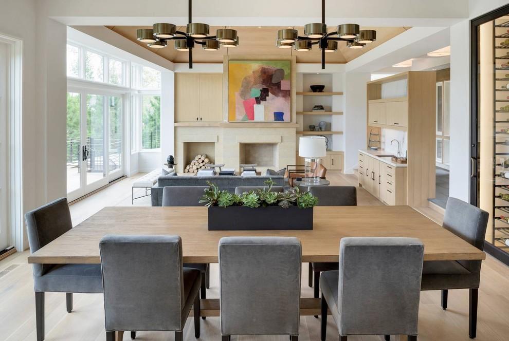 Rénovation maison Brabant Wallon - Modern - Esszimmer ...