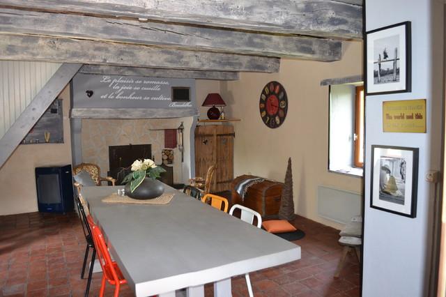 rnovation maison de campagne bourgogne du sud campagne salle a manger - Rnovation Maison De Campagne