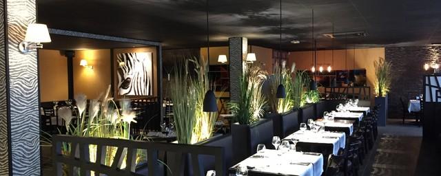 Le Zebre Magny Le Hongre restaurant le zèbre - magny le hongre - contemporain - salle à