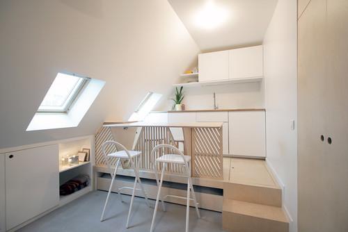 Romain - 15 m² transformé en 2 pièces-cuisine !