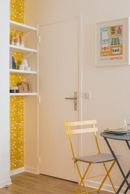 Studio 25m2 montmartre scandinavian dining room - Decoration studio 25m2 ...