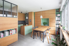 Avant/Après : Optimisation sur mesure ultime pour 30 m2 parisien