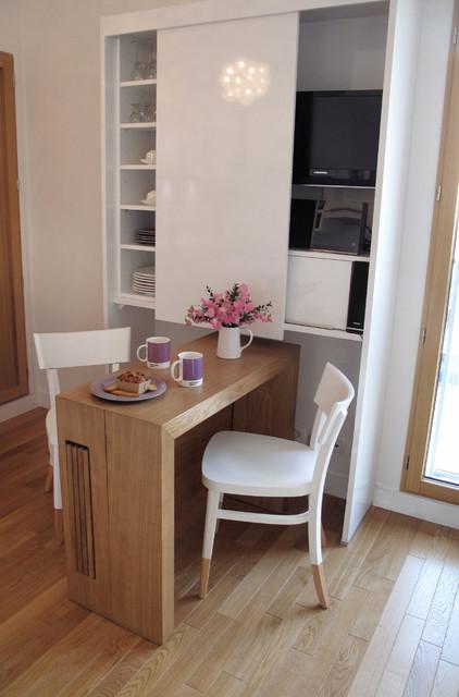 studio boulogne billancourt contemporain salle manger paris par tout simplement deco. Black Bedroom Furniture Sets. Home Design Ideas