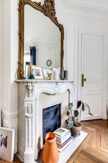 suivez le guide r publique transitional dining room paris by meero. Black Bedroom Furniture Sets. Home Design Ideas