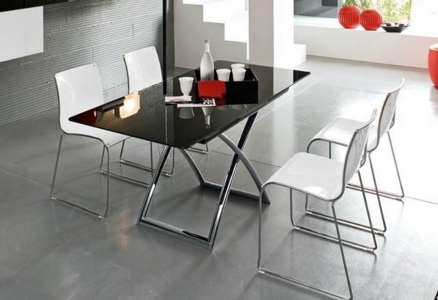 Table basse relevable extensible italienne MAGIC J Glass de ...