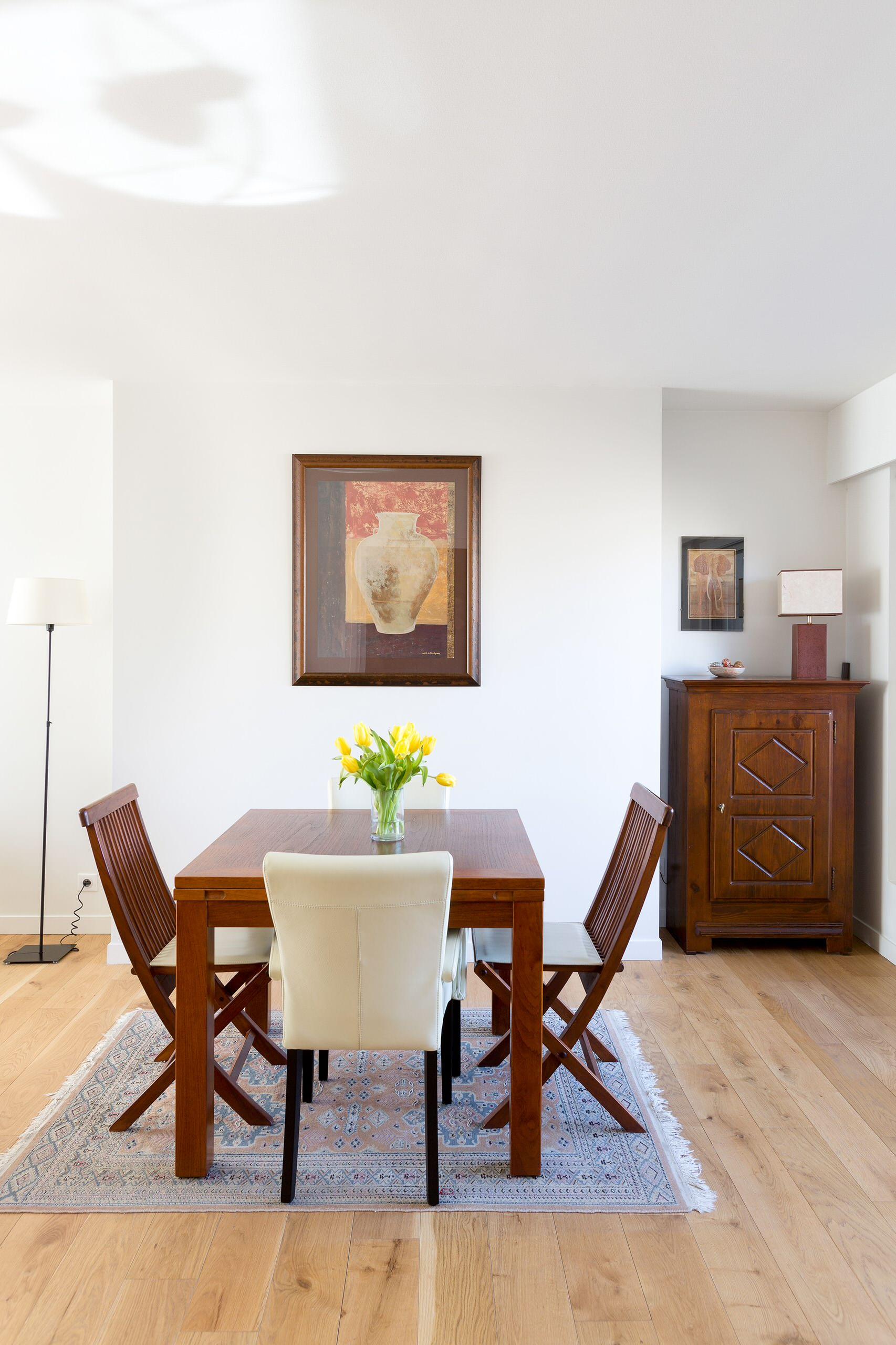 Transformation d'un appartement familiale 75m² avec terrasse