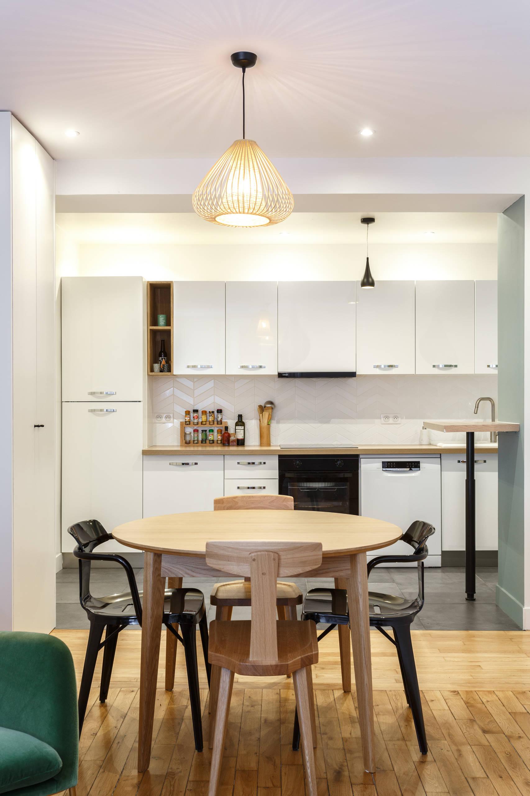 Un espace salle à manger compact