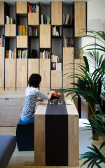 Houzz Tour: Ingenious Built-in Furniture Maximises a Small Flat