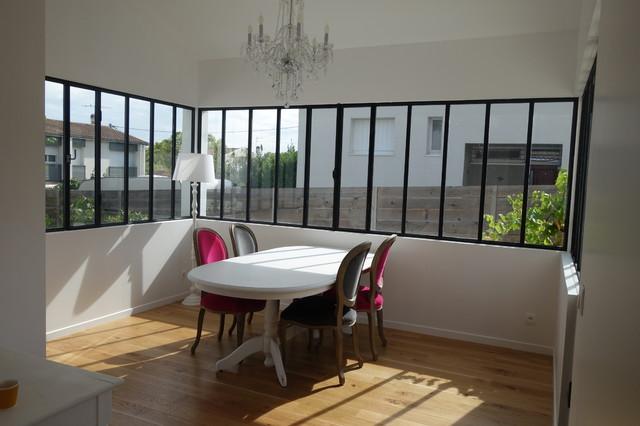 V randa en vitrage atelier for Salle a manger veranda
