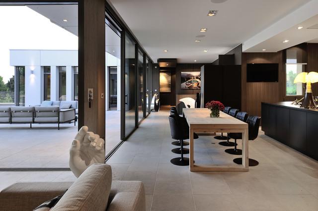 Villa wa for Sejour contemporain salle a manger