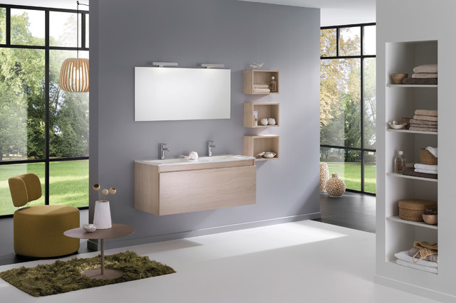 ambiance scandinave scandinave salle de bain dijon par espace aubade. Black Bedroom Furniture Sets. Home Design Ideas