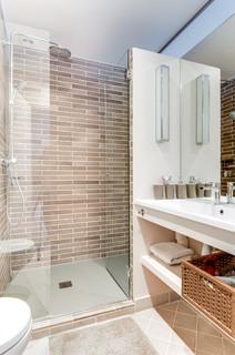 Idées de salles de bain beige : Photos et idées déco