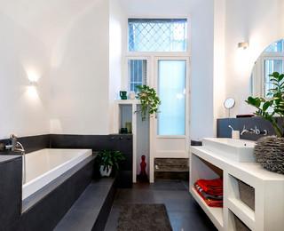 Appartement clermont fd contemporain salle de bain clermont ferrand par a k architectures - Salle de bain clermont ferrand ...