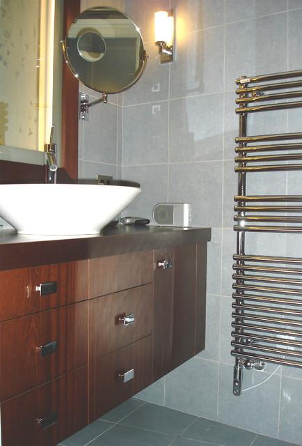 Appartement Art Déco: salle d\'eau - Contemporain - Salle de ...