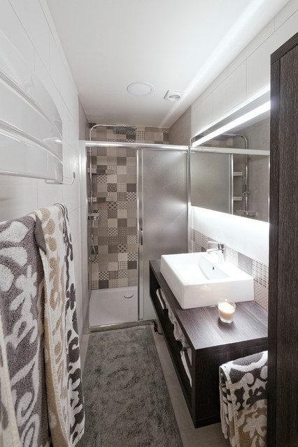 appartement ax les thermes scandinavian bathroom toulouse by laurence jovet d 233 coratrice