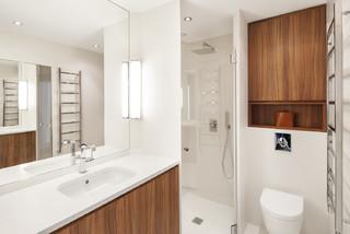 Appartement paris 16 contemporain salle de bain - Quincaillerie paris 16 ...