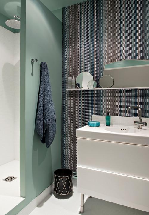 baño de casa en paris de Emilie Bonaventure
