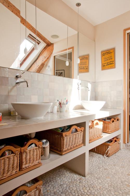 Salle de bain for Cout renovation salle de bain 10m2