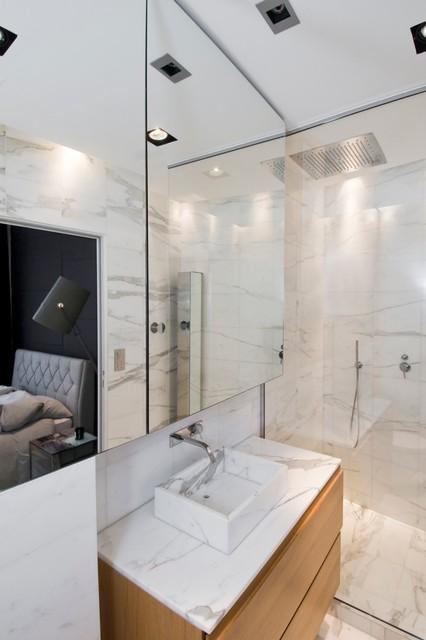 Appartement - Rue de Bretagne - Paris 3 contemporain-salle-de-bain