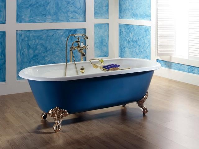baignoire ilot retro maison design. Black Bedroom Furniture Sets. Home Design Ideas