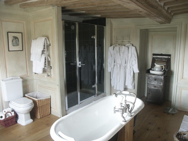 Bathroom in a French Manor traditional-bathroom