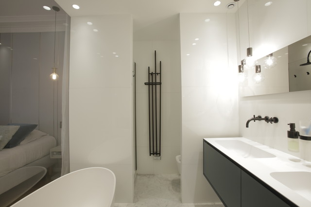 blvd Haussmann 18e - Contemporary - Bathroom - Paris - by ...