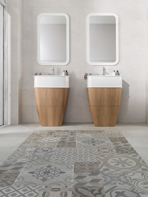 Carrelage porcelanosa for Salle bain porcelanosa