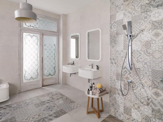 Carrelage Porcelanosa Contemporary Bathroom Paris By