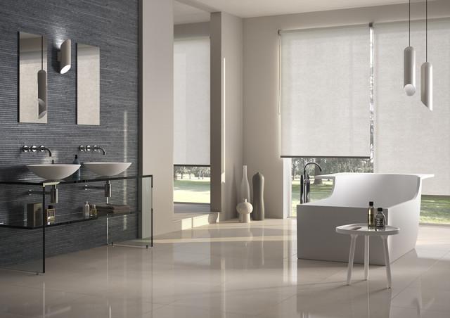 Carrelage salle de bain contemporain salle de bain for Carrelage contemporain