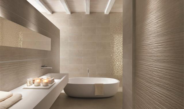 Carrelage salle de bain moderne salle de bain autres - Idee carrelage salle de bain moderne ...