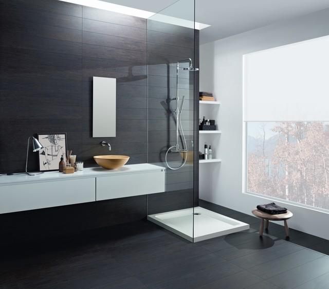Carrelage salle de bain - Contemporain - Salle de Bain - Paris - par ...