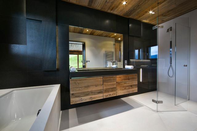 chalet de montagne dgc studio salle de bain other metro par dgc studio photography. Black Bedroom Furniture Sets. Home Design Ideas