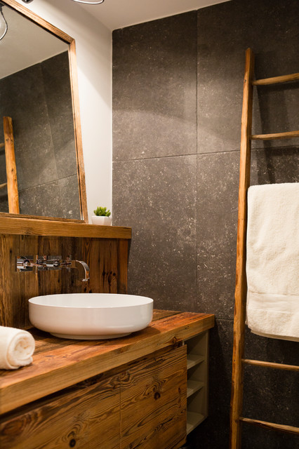 chalet meribel montagne salle de bain lyon par damien carreres. Black Bedroom Furniture Sets. Home Design Ideas