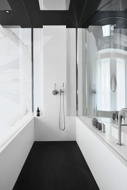 Chez Marc Etienne Architecte Frédéric Chane Mag IDEAT - Ideat salle de bain