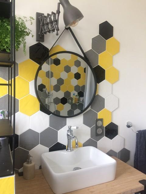 Coin toilette retro-salle-de-bain