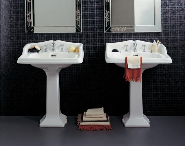 colonnes lavabo r tro. Black Bedroom Furniture Sets. Home Design Ideas