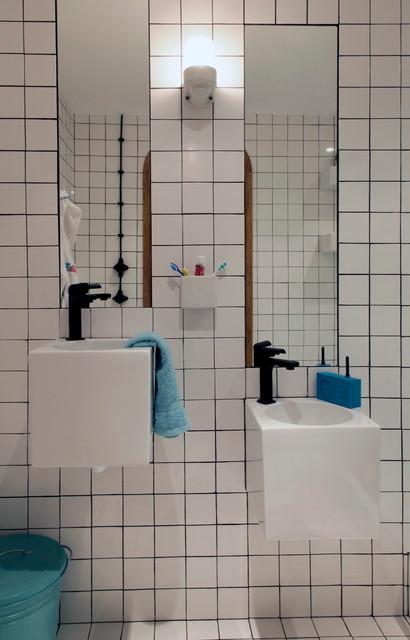Contemporain salle de bain contemporary bathroom Salle de bain marseille